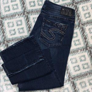 Silver SUKI 17' style jeans. 31 x 33